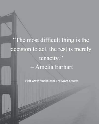 Inspirational quotes about decisions