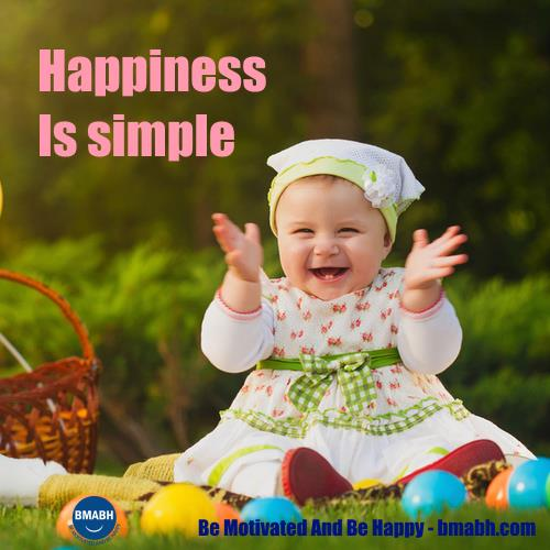 happiness is simple