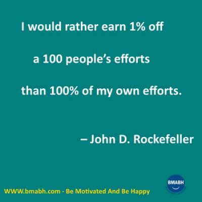 Marketing Quotes by John D. Rockefeller