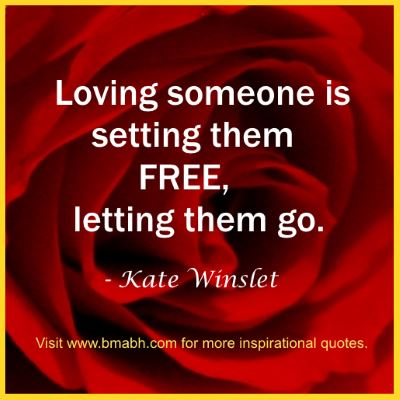 letting go love quotes -Loving someone is setting them free, letting them go