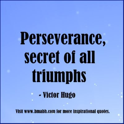motivational quotes perseverance-Perseverance, secret of all triumphs
