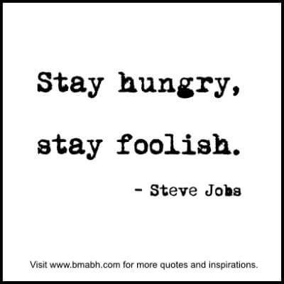 Inspirational Steve Jobs Quotes at www.bmabh.com