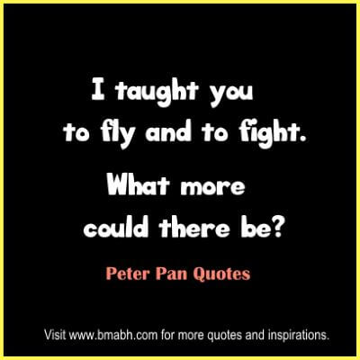 Peter Pan Quotes at www.bmabh.com # fly
