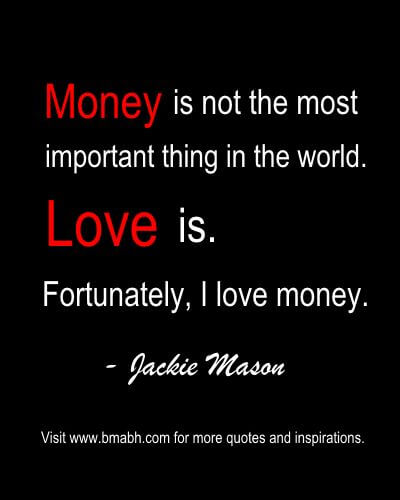 articles about love and money