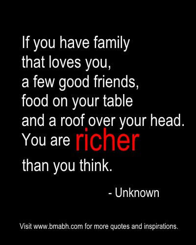 money quotes about richness