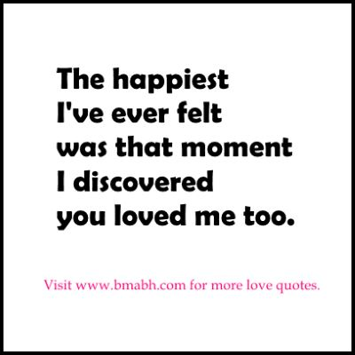 Cute Relationship Quotes happiest moments