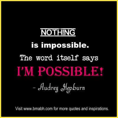 Inspirational Audrey Hepburn Quotes at www.bmabh.com