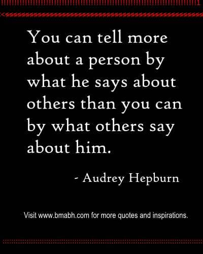 Wise Saying Audrey Hepburn Quotes at www.bmabh.com