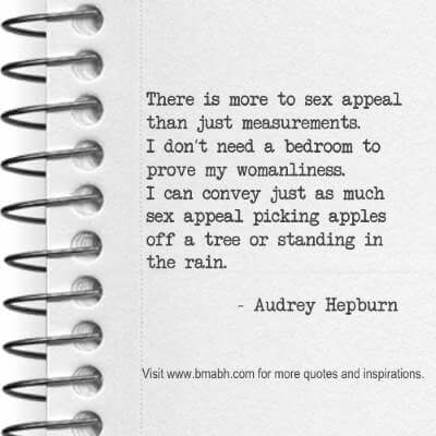awesome Audrey Hepburn quotes at www.bmabh.com