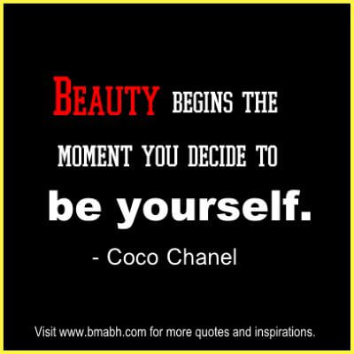 Inspirational Coco Chanel Quotes About Beauty at www.bmabh.com