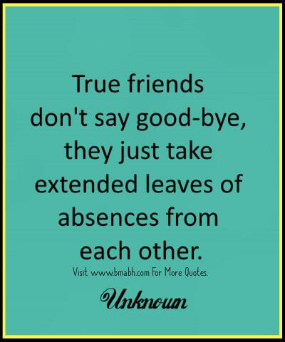 Beautiful Goodbye Quotes And Farewell Sayings