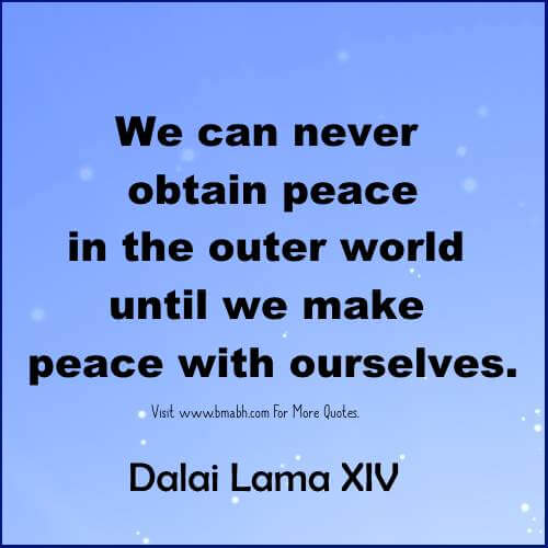Inner Peace Quotes - Quotes About Peace Of Mind