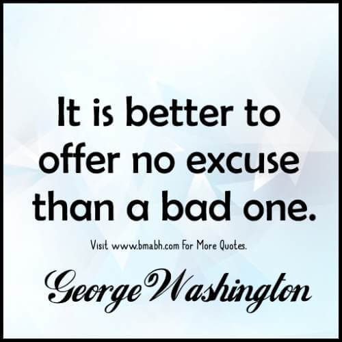 Excuses Quotes - Inspirational Quotes About Excuses