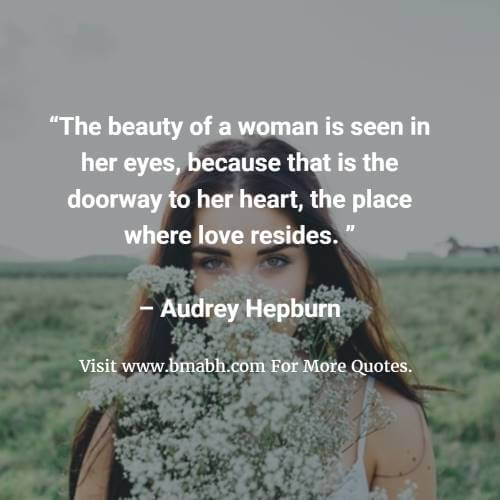 Famous Beauty Quotes And Sayings Image