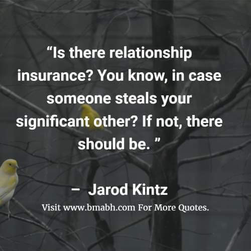 Funny Life Insurance Quotes And Sayings Image