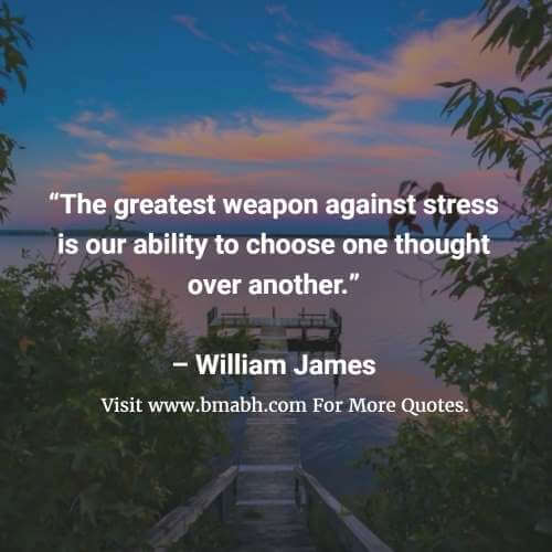 Inspirational Quotes About Stress