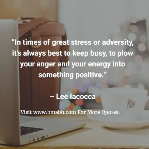 Inspirational Stress Quotes And Sayings Image