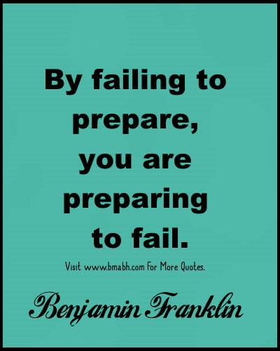 Preparation Quotes - Inspirational quotes about preparation