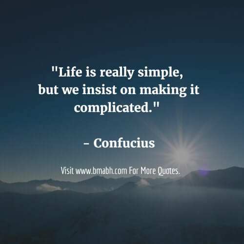 Simplicity Quotes And sayings Image